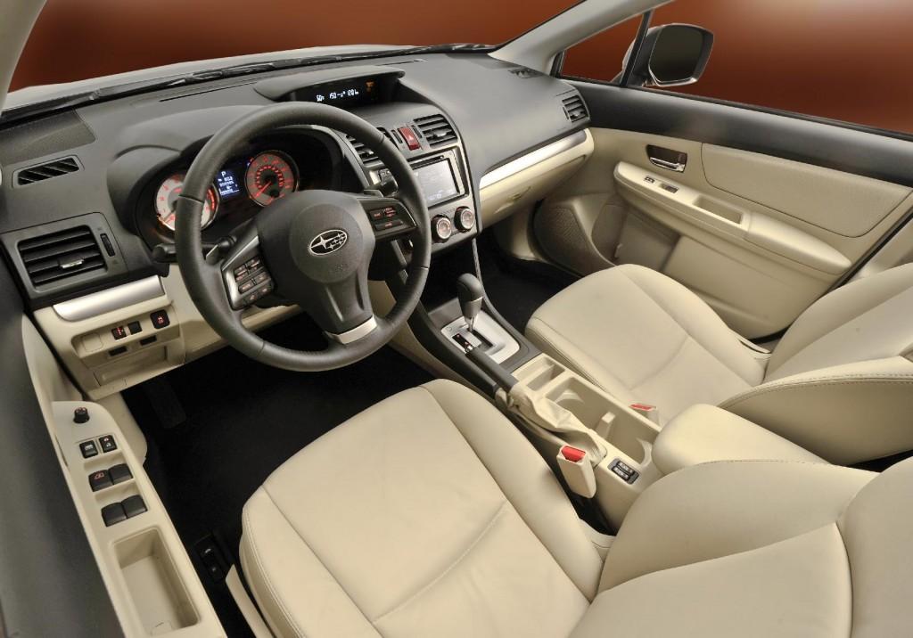 2012 Subaru Impreza - interior