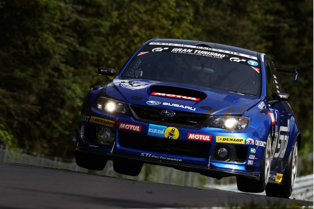 2012 Subaru Impreza WRX STI N24 race car