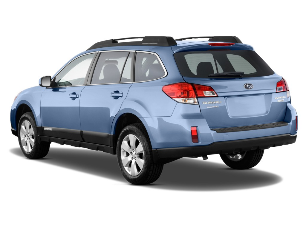2012 Subaru Outback 4-door Wagon H4 Auto 2.5i Limited Angular Rear Exterior View