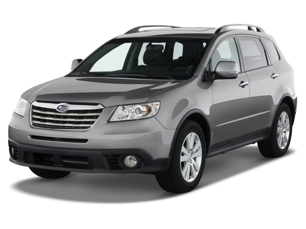 2012 Subaru Tribeca 4-door 3.6R Limited Angular Front Exterior View