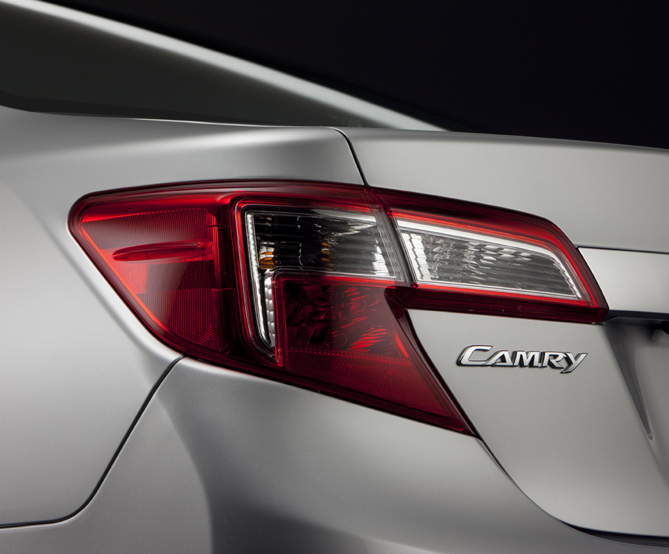 Updated: Toyota Posts Yet Another 2012 Camry Teaser on Twitter, Facebook