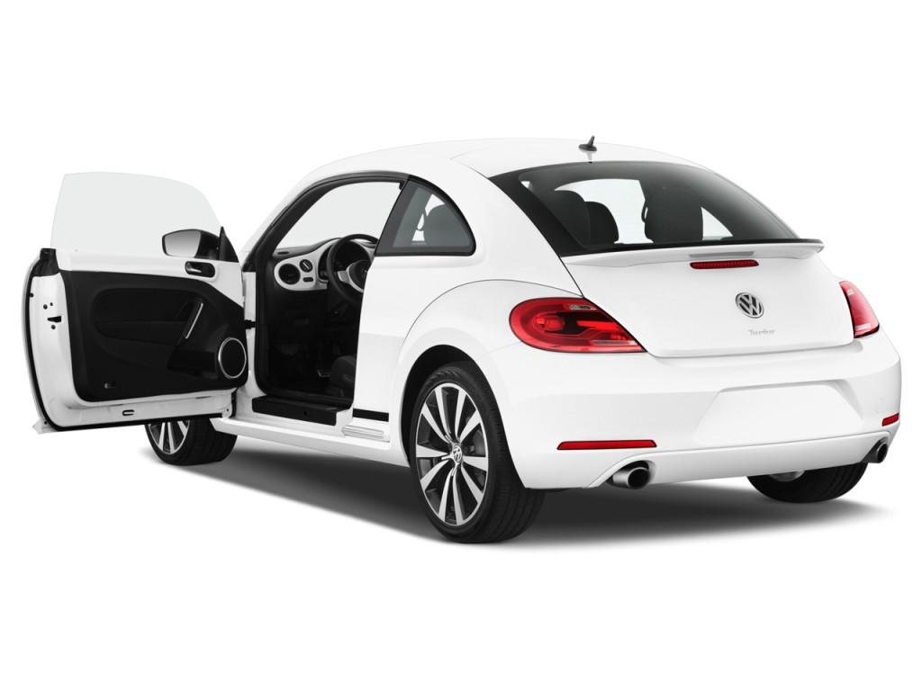 image 2012 volkswagen beetle 2 door coupe dsg 2 0t black turbo launch edition pzev open doors. Black Bedroom Furniture Sets. Home Design Ideas