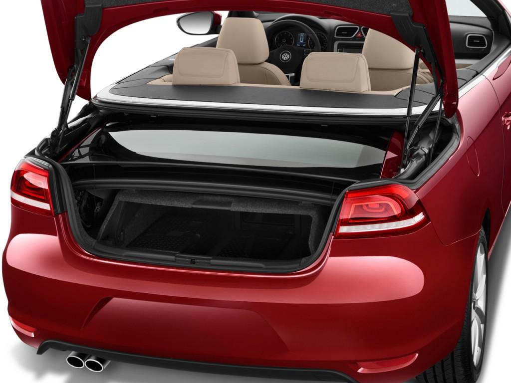image  volkswagen eos  door convertible komfort sulev trunk size    type gif