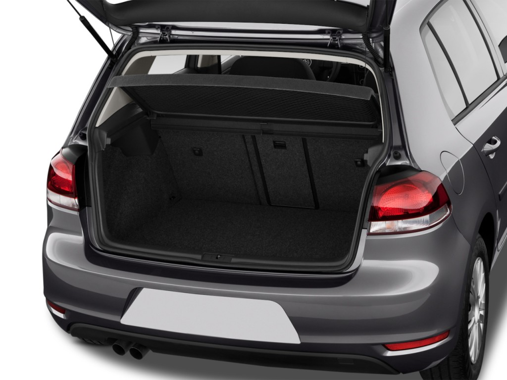 Image: 2012 Volkswagen Golf 4-door HB Auto Trunk, size ...