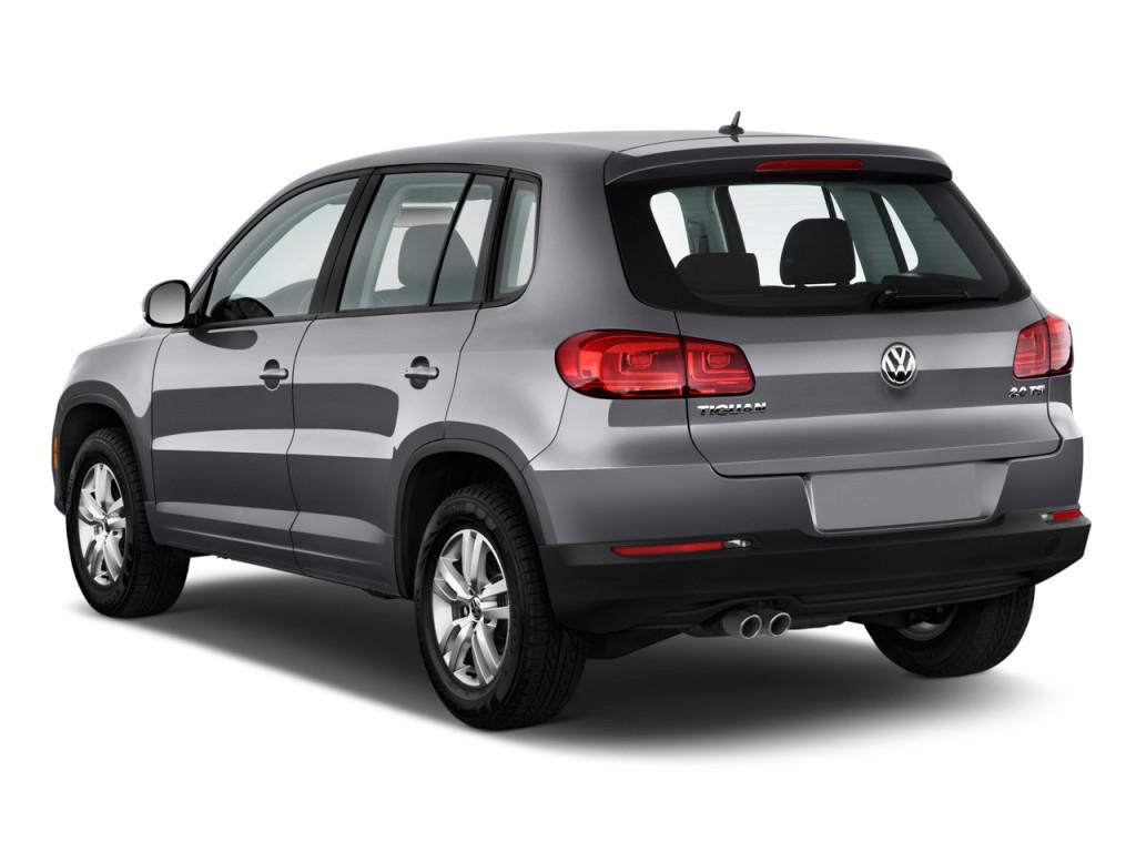 Image 2012 Volkswagen Tiguan 2wd 4 Door Auto S Angular