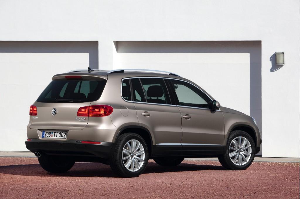 2012 Volkswagen Tiguan First Drive