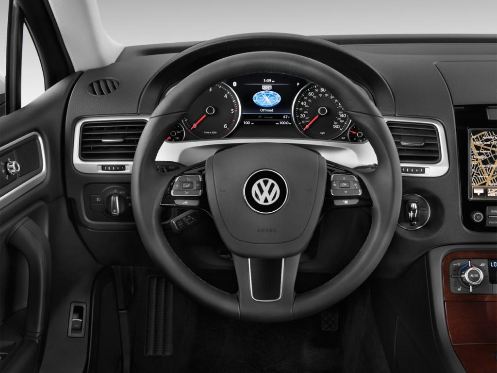 Coupe Vs Sedan >> Image: 2012 Volkswagen Touareg 4-door TDI Lux *Ltd Avail ...