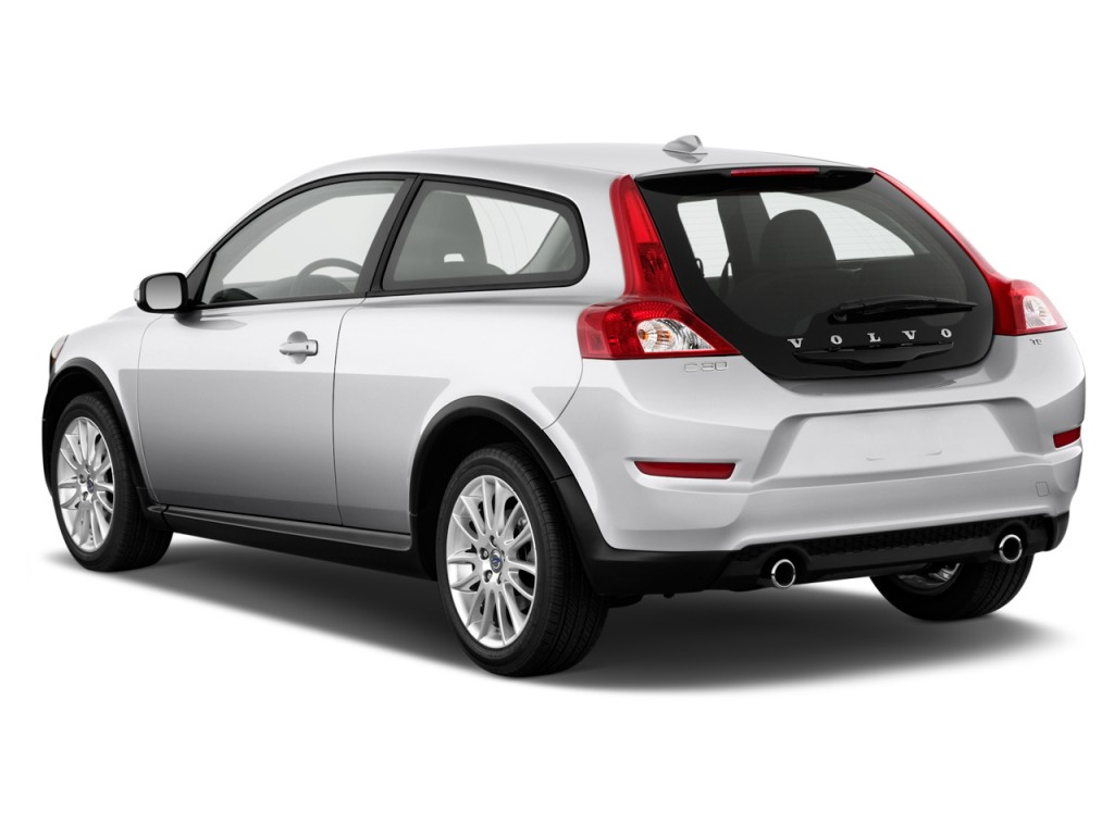 Volvo Xc90 Hybrid >> Image: 2012 Volvo C30 2-door Coupe Auto Angular Rear ...