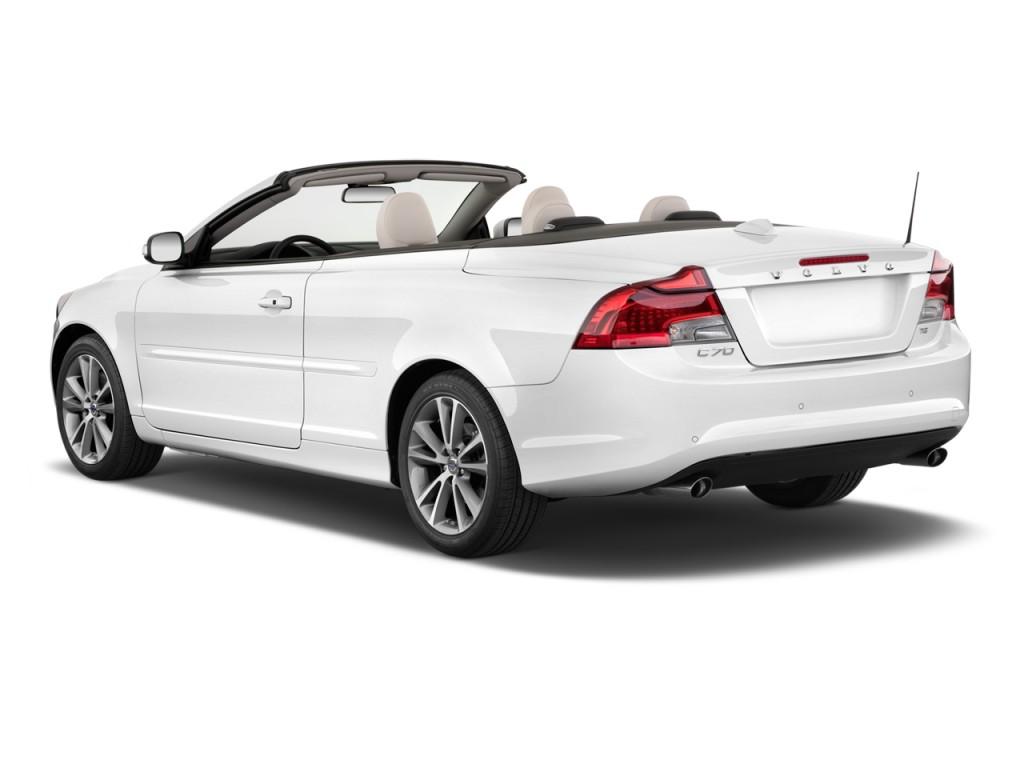 image 2012 volvo c70 2 door convertible t5 angular rear. Black Bedroom Furniture Sets. Home Design Ideas