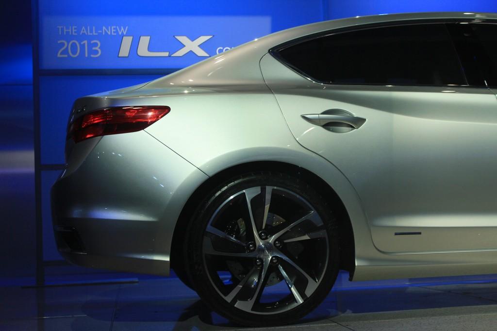 2013 Acura ILX Concept live photos