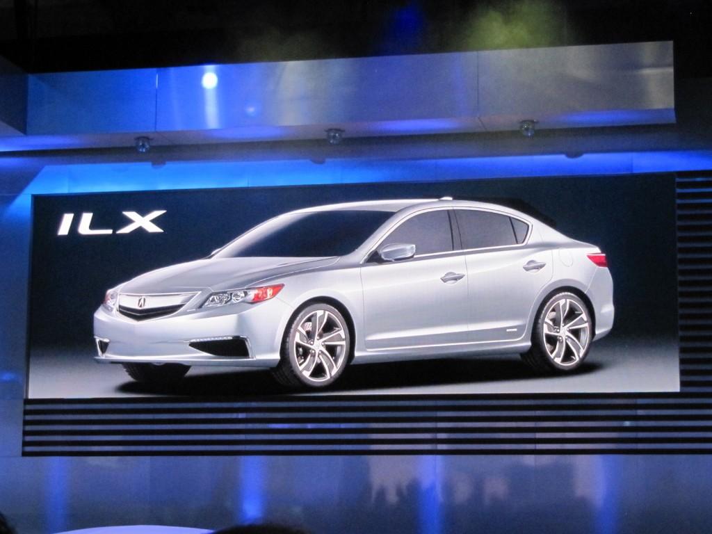 2013 Acura ILX Concept, 2013 RDX Crossover Concept: 2012 Detroit Auto Show