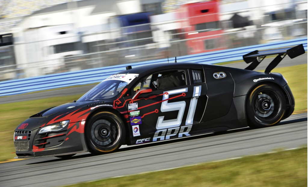 2013 Audi R8 Grand-Am race car