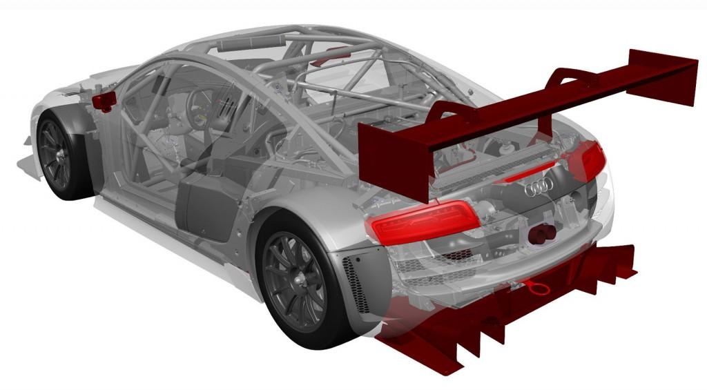 2013 Audi R8 LMS ultra evolution
