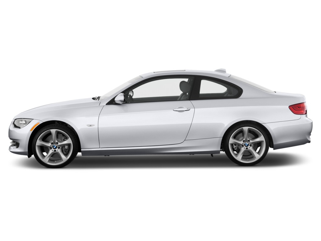 2013 BMW 3-Series 2-door Coupe 335i RWD Side Exterior View