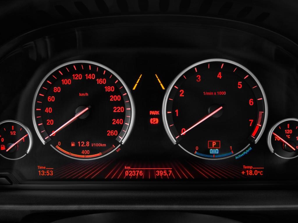 Image 2013 Bmw 5 Series 4 Door Sedan Activehybrid 5 Rwd