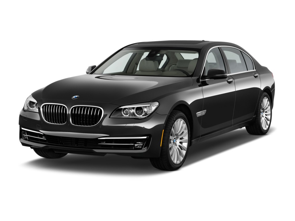 2013 BMW 7-Series 4-door Sedan 750Li RWD Angular Front Exterior View