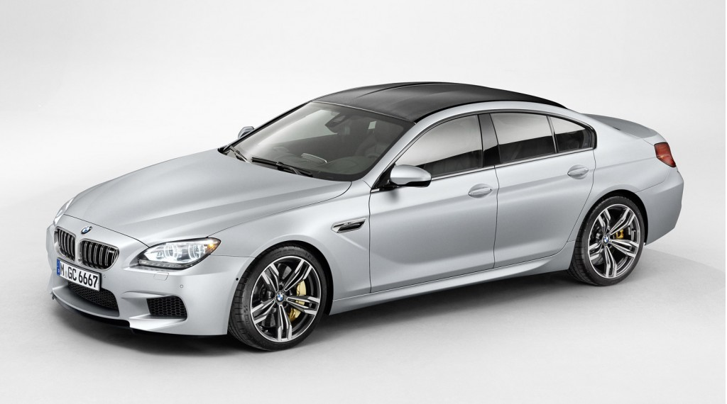 new car release in 20142014 BMW M6 Gran Coupe Revealed