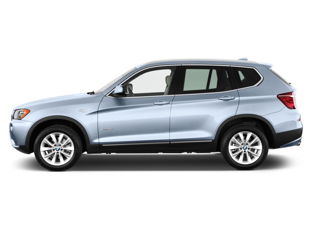 2013 BMW X3 AWD 4-door 28i Side Exterior View