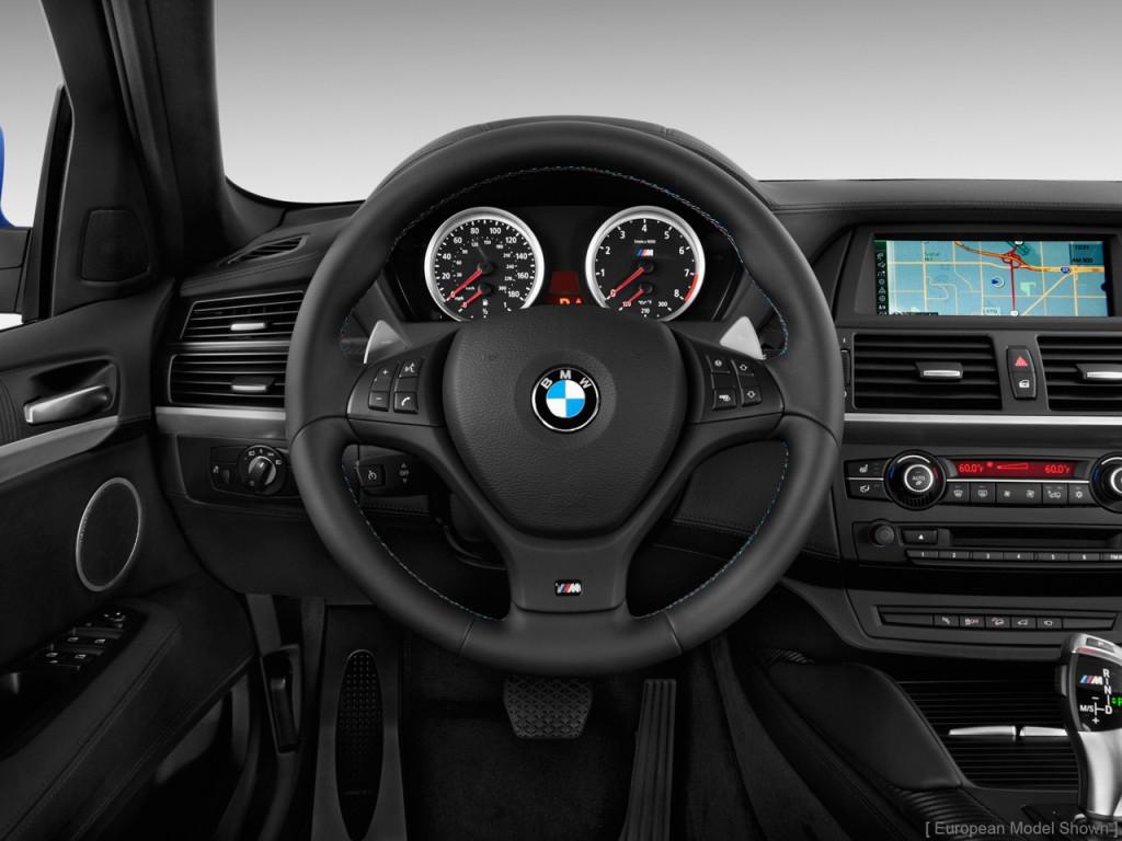 Image: 2013 BMW X6 M AWD 4-door Steering Wheel, size: 1024 ...