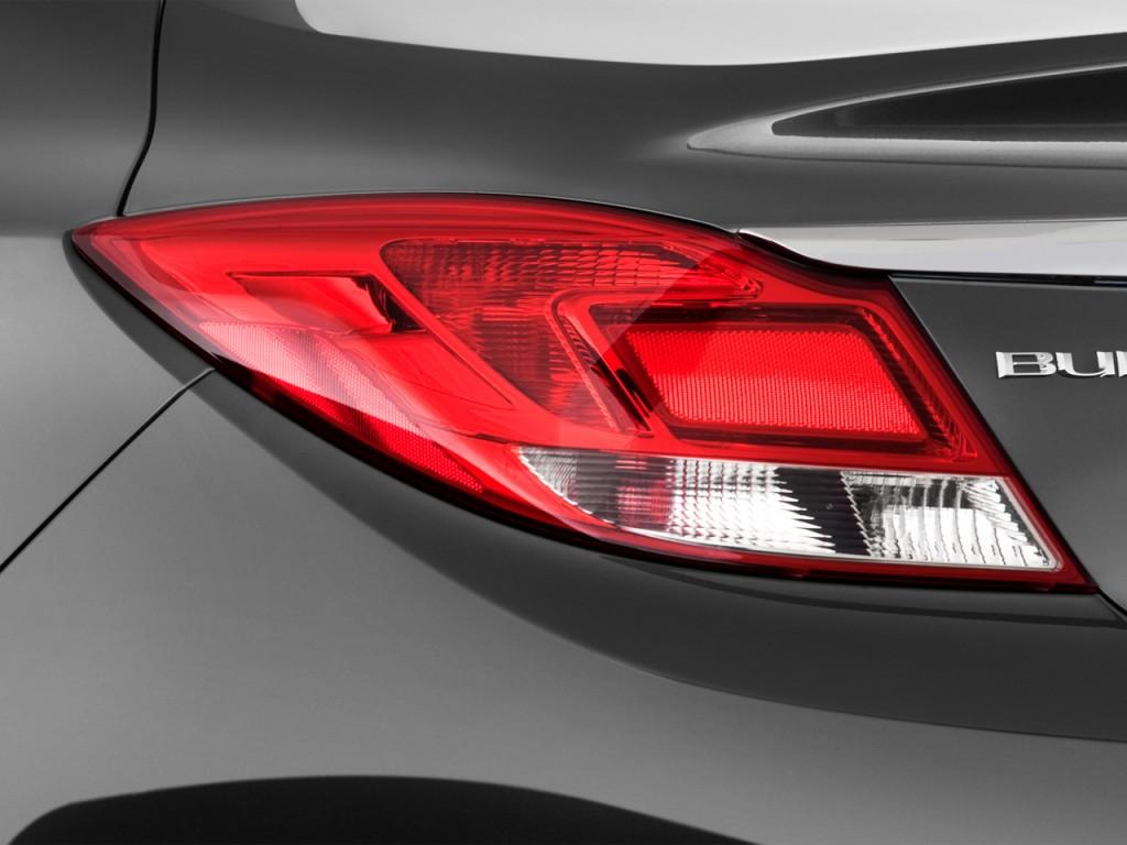 Image: 2013 Buick Regal 4-door Sedan Turbo Premium 2 Tail ...