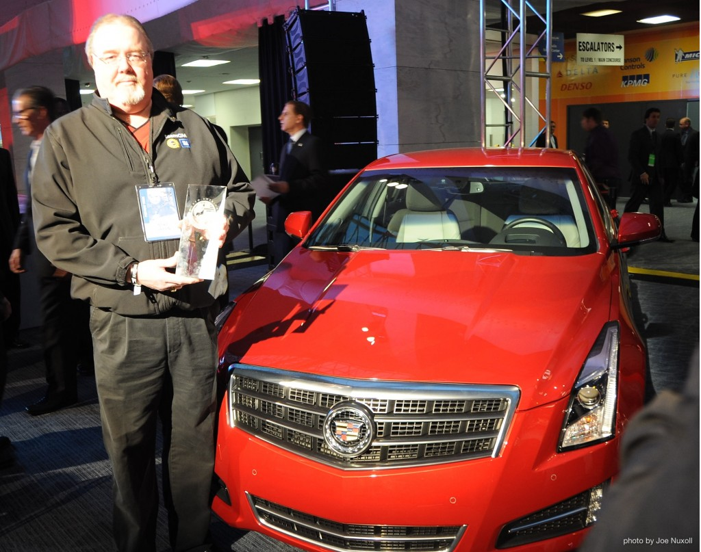 2013 Cadillac ATS - Winner of the North American Car of the Year Award at the 2013 Detroit Auto Show