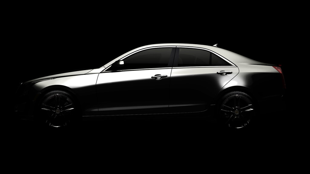 2013 Cadillac ATS: All-New Compact Luxury Sedan Coming Next Summer