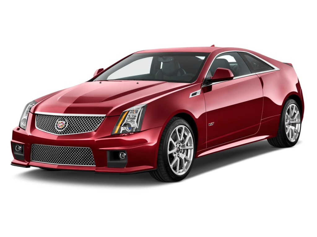 image 2013 cadillac cts v 2 door coupe angular front. Black Bedroom Furniture Sets. Home Design Ideas