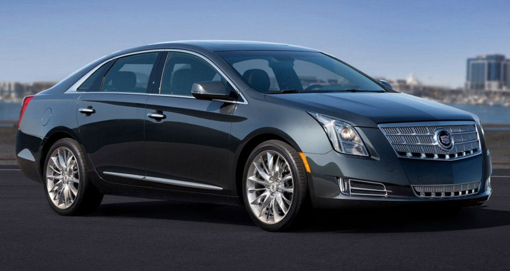 2013 Cadillac XTS: First Official Photo