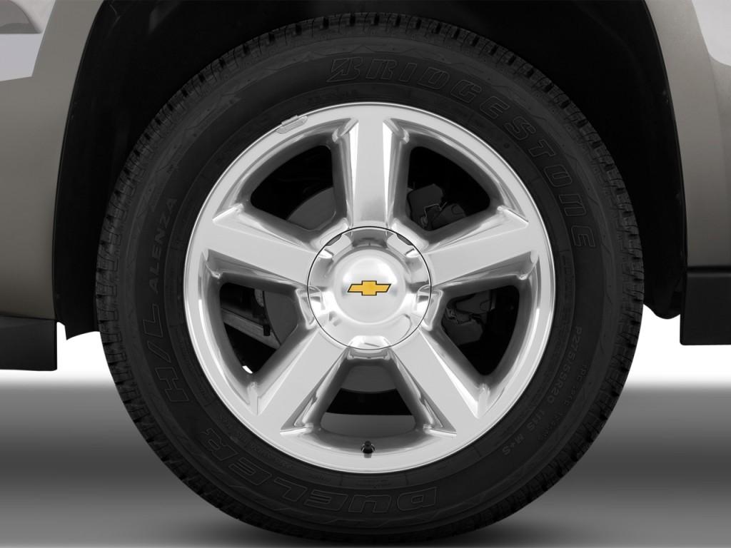 Image: 2013 Chevrolet Avalanche 2WD Crew Cab LTZ Wheel Cap ...