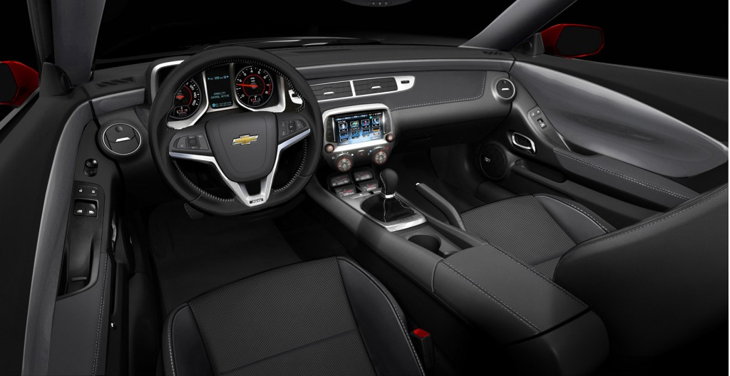 2013 Chevrolet Camaro SS equipped with 1LE package