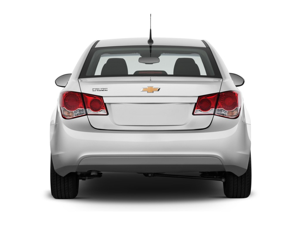 Image 2013 Chevrolet Cruze 4 Door Sedan Auto Ls Rear