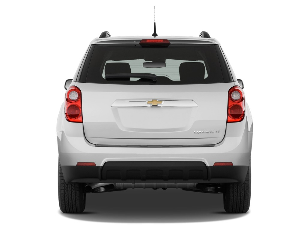 Image: 2013 Chevrolet Equinox FWD 4-door LT w/2LT Rear Exterior View ...