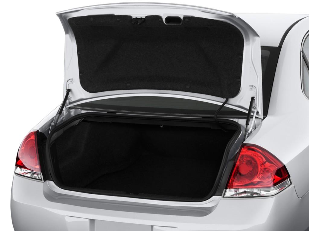 Chevrolet Impala Door Sedan Ls Retail Trunk L