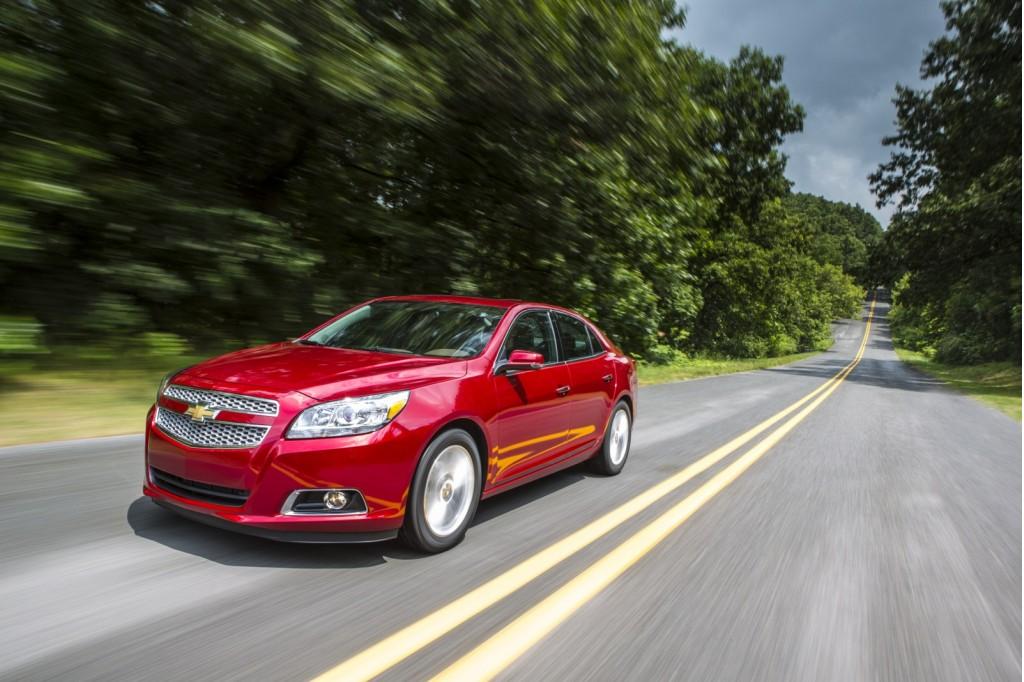 2013 Chevrolet Malibu Recalled To Fix Rear Suspension