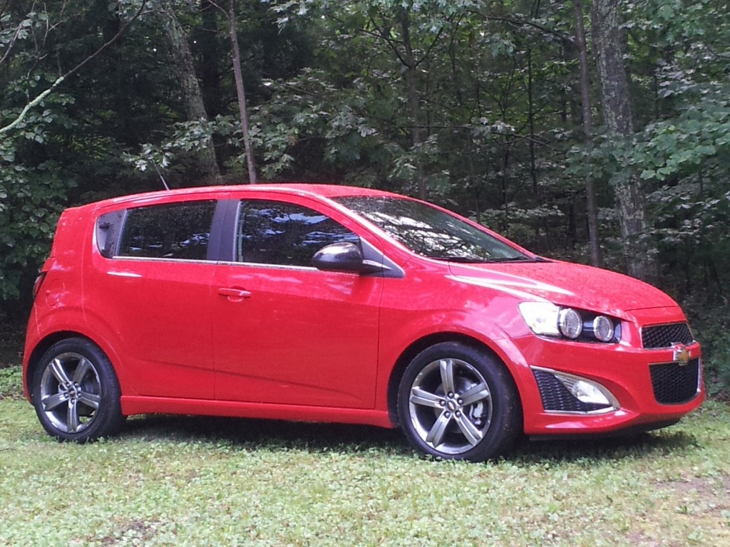 2013 Chevrolet Sonic RS, Catskill Mountains, NY, July 2013