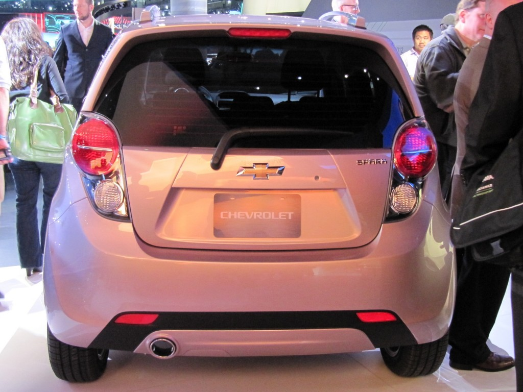 2013 Chevrolet Spark  -  in lilac metallic