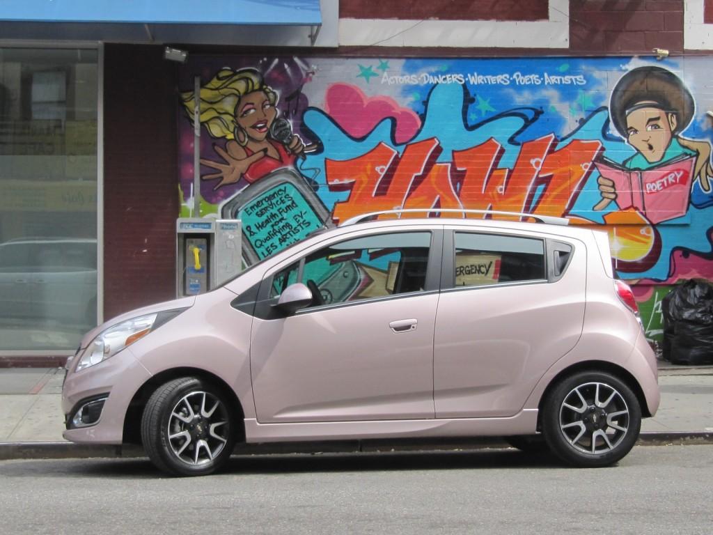 2013 Chevrolet Spark minicar, New York City, Aug 2012