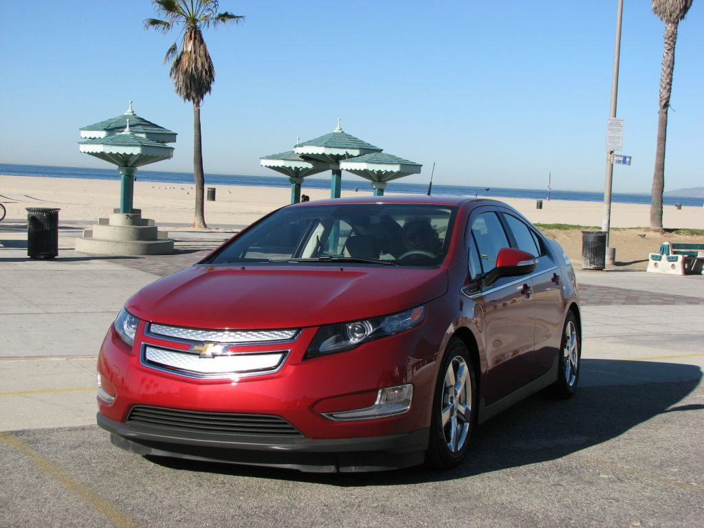2013 Chevrolet Volt in Santa Monica, California [photo: Chris Williams]