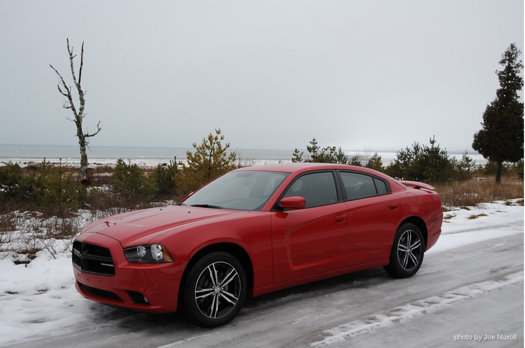 Image: 2013 Dodge Charger AWD Sport - winter road trip ...