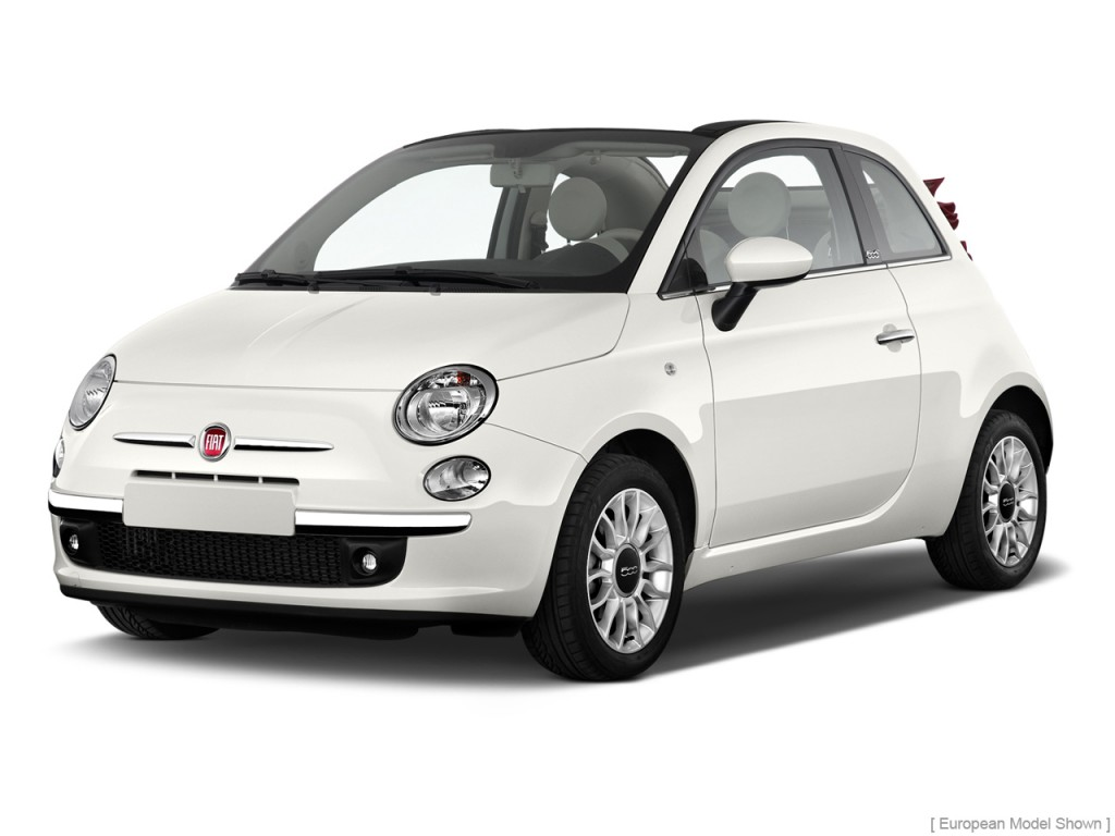 image 2013 fiat 500 2 door convertible lounge angular front exterior view size 1024 x 768. Black Bedroom Furniture Sets. Home Design Ideas