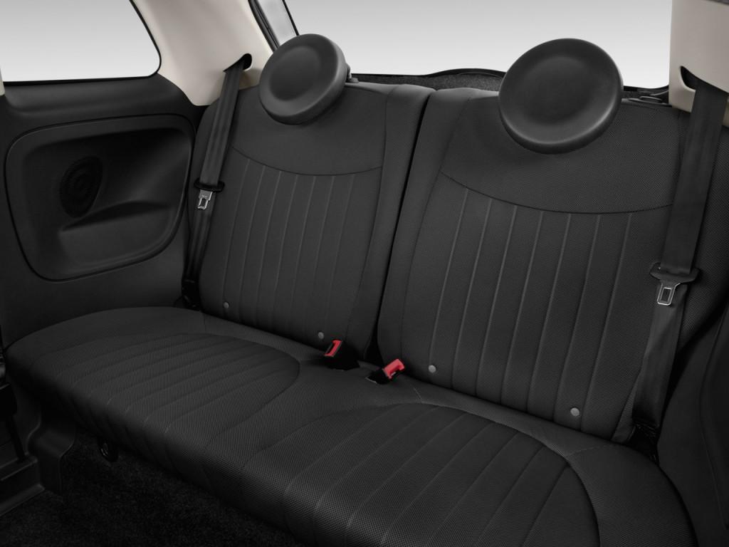 2013 FIAT 500 2-door HB Lounge Rear Seats
