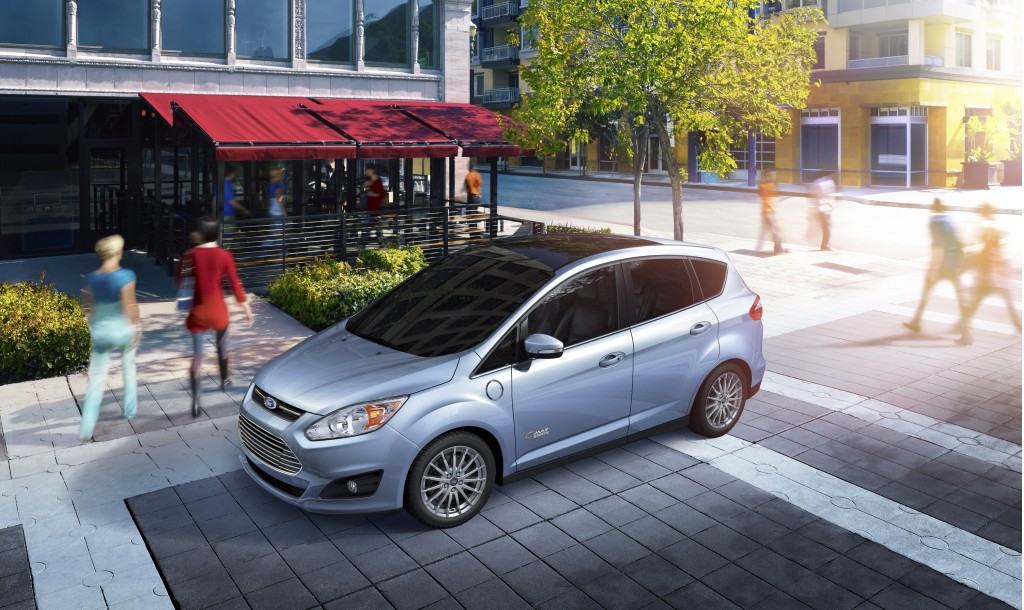 2013 Ford C-Max Energi plug-in hybrid