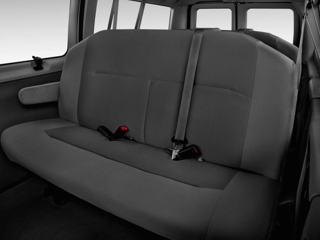 Image 2013 Ford Econoline Wagon E 150 Xlt Rear Seats