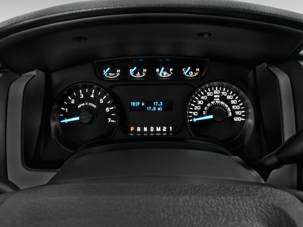 Image 2013 Ford F 150 2wd Reg Cab 145 Quot Xl Instrument