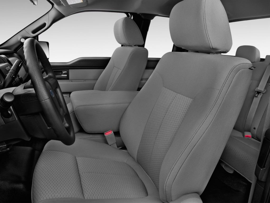 image 2013 ford f 150 2wd supercab 145 xl front seats. Black Bedroom Furniture Sets. Home Design Ideas