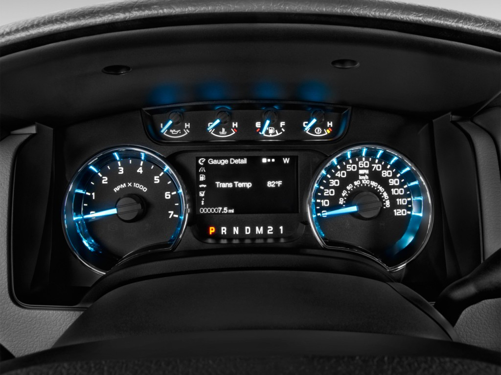 Image 2013 Ford F 150 2wd Supercrew 157 Quot Xlt Instrument