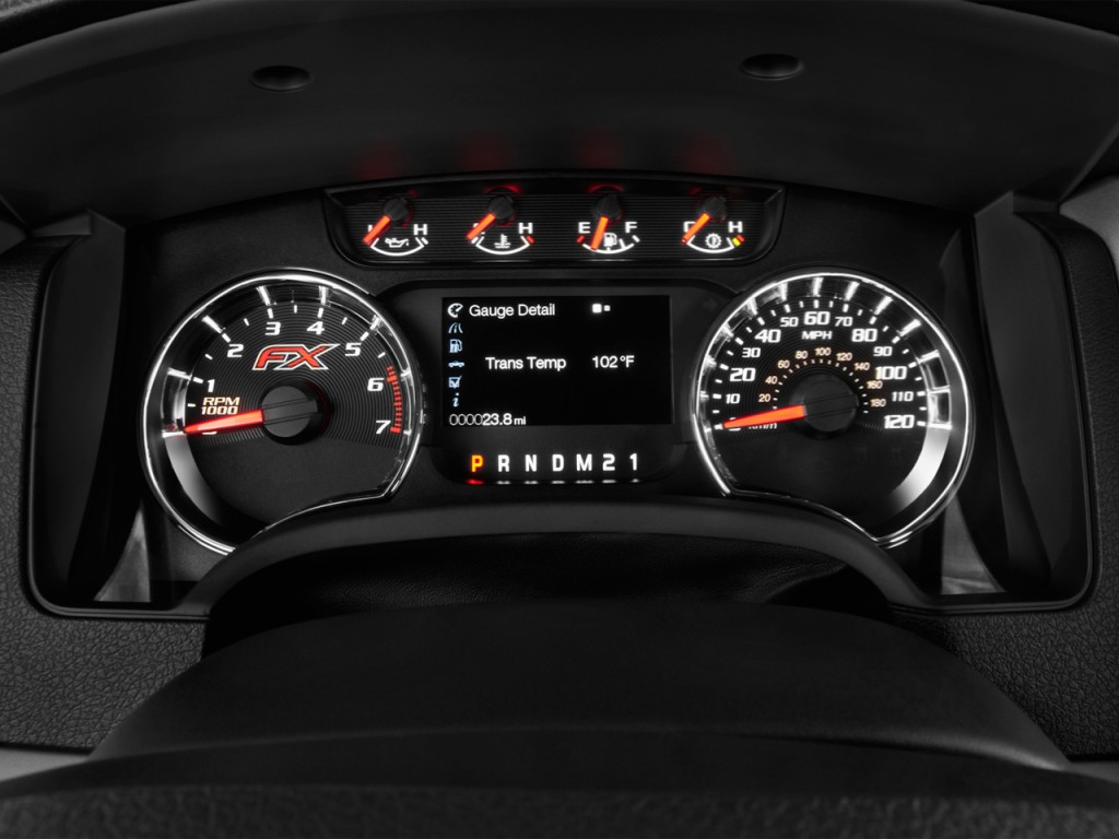 Image 2013 Ford F 150 4wd Supercrew 157 Quot Fx4 Instrument