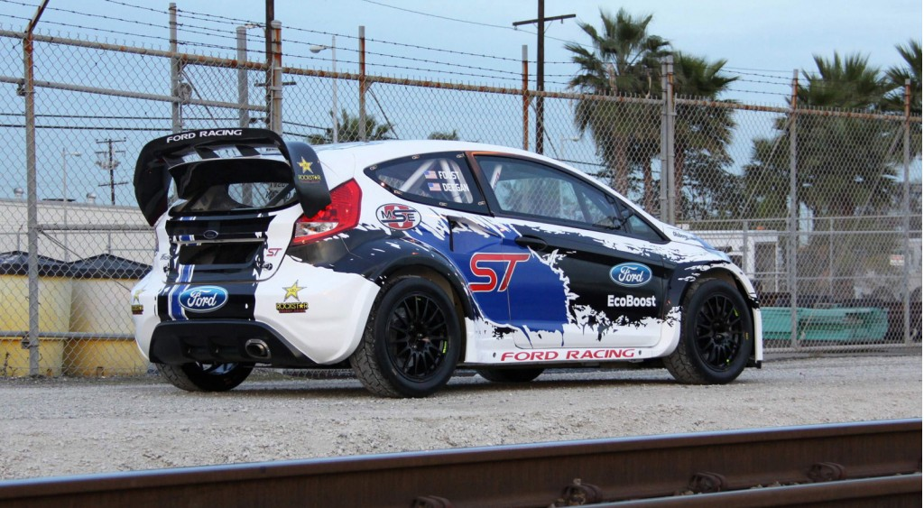 OlsbergsMSE's 2013 Ford Fiesta ST Global RallyCross race car