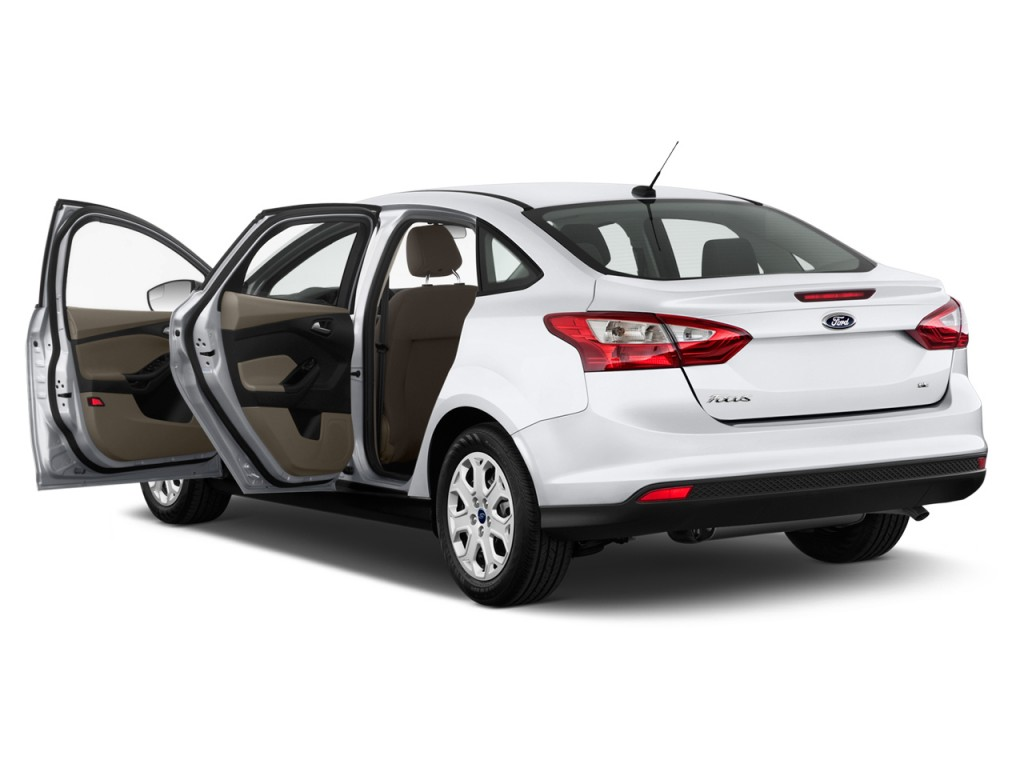 Image 2013 Ford Focus 4 Door Sedan Se Open Doors Size