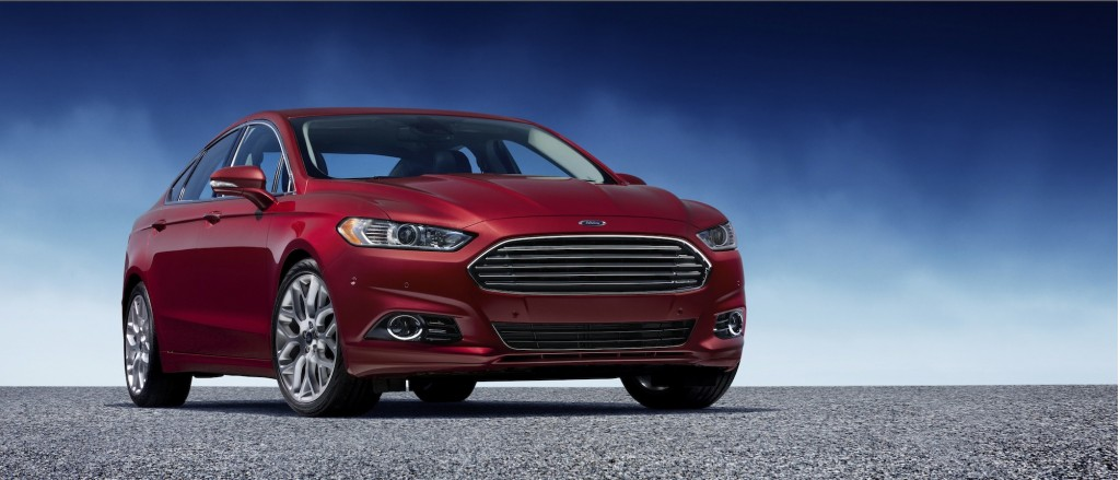 2013 Ford Fusion: Designed With Interior (Lighting) Color In Mind
